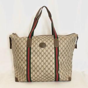 Gucci Vintage GG Supreme travel Bag